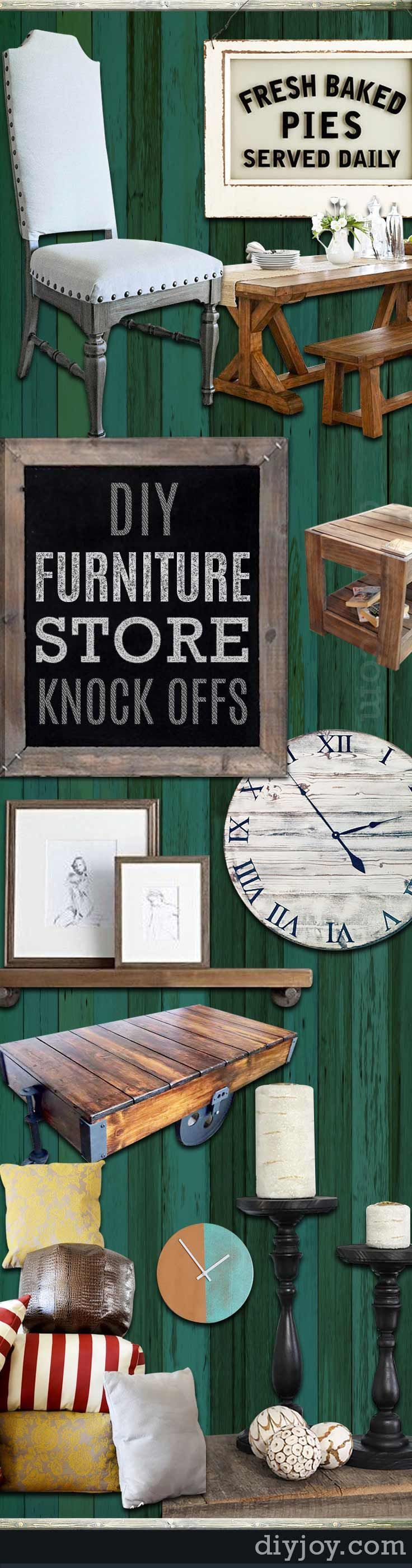 52 Incredible DIY Furniture Store Knock Offs   Furniture ...