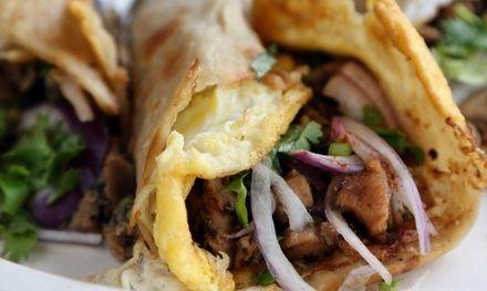 Sandwich tandoori avec frites et boisson pour 1 ou 2 - Restaurant Chilli Tandoori à Décines-Charpieu