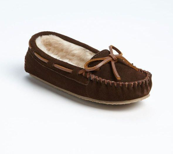 M&S Azul FAUX SUEDE MOCASSIN MOCASSIN SUEDE SLIPPERS WITH ACTIVE Plata IONS - Talla 6 -BNWT 378821