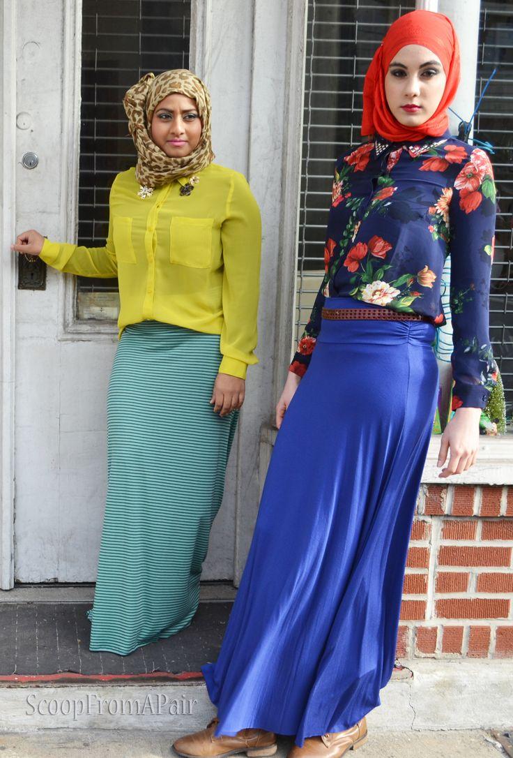 Super stylish Muslim fashion bloggers!