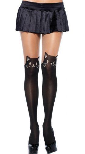 070b422ce7b Yandy Kitty T-Shirt Dress Costume, black cat costume - Yandy.com