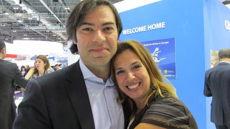 Sami Guenaoui from Thalasso No1, France with Mandy