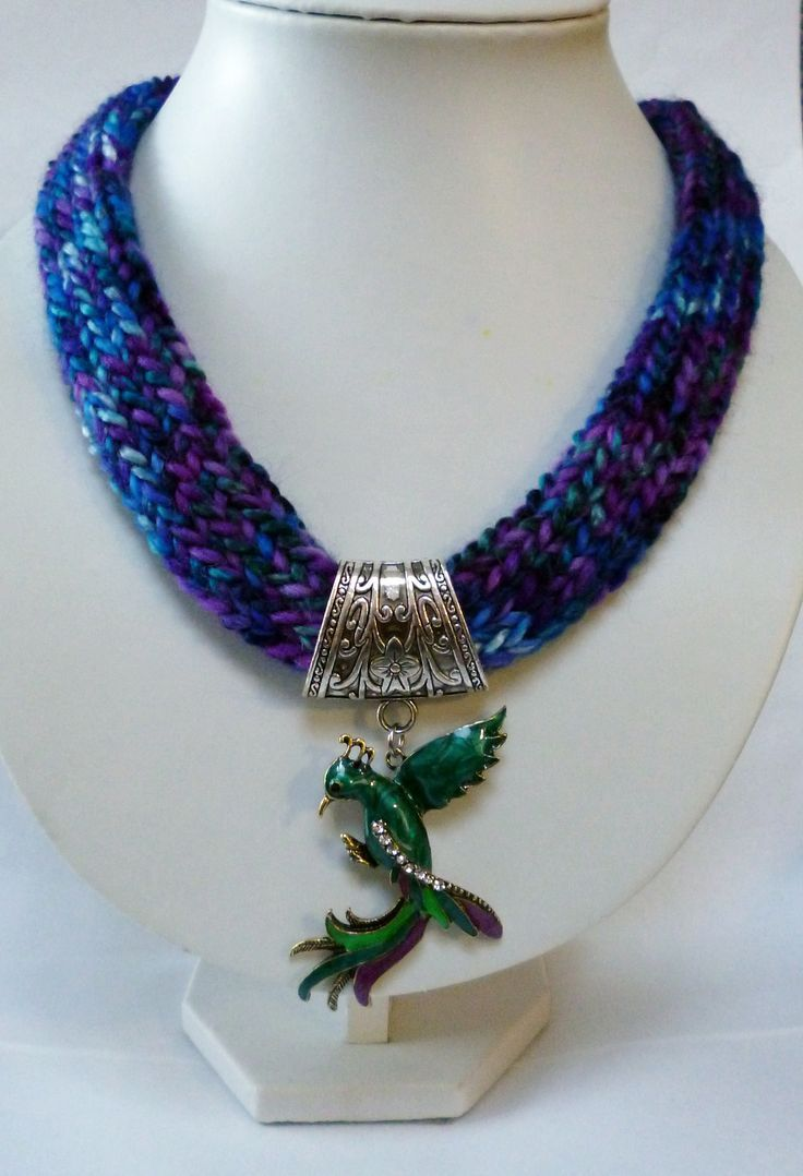 French Knitting Jewellery Tutorials : Best images about i cord jewelry on pinterest rope