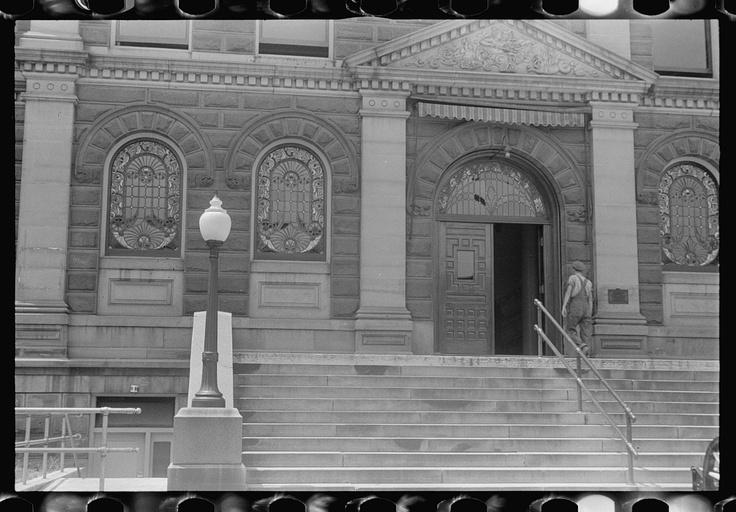 Courthouse, Circleville, Ohio; 1938