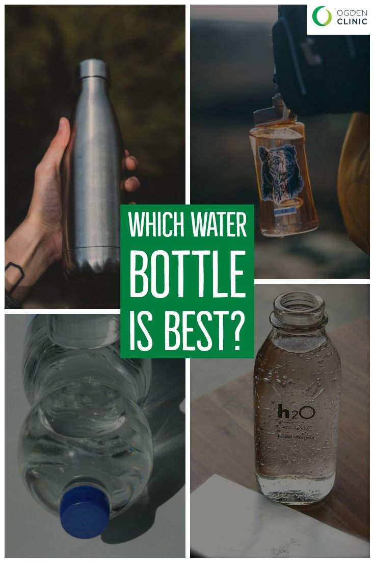 273851acc48 Whether you choose glass, reusable plastic or steel bottles, give yourself  a pat on the back for making a choice benefits the planet and your health.
