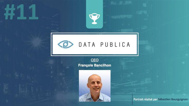 Portrait de startuper #11 - Data Publica - François Bancilhon - par Sébastien Bourguignon