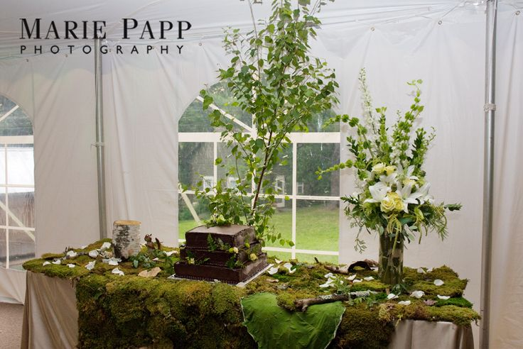 Something is off about this table    Steven Bruce Design: Enchanted Forest Themed Wedding at Shadow Lawn