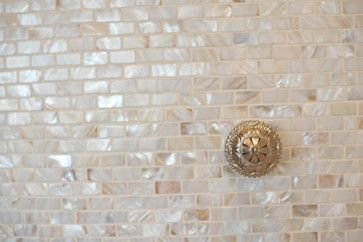 Mother of pearl tile backsplash - Kitchens Forum - GardenWeb