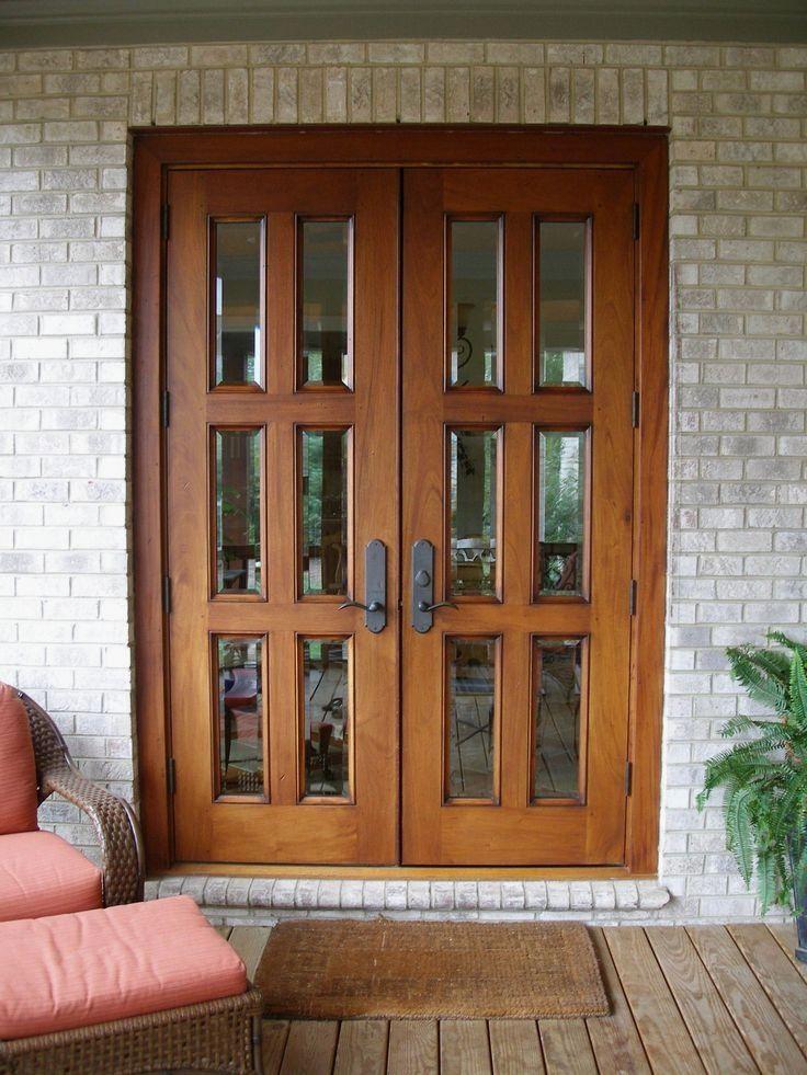 27 Stunning Exterior Door Design Ideas French Doors Exterior Wooden Patio Doors French Doors Patio