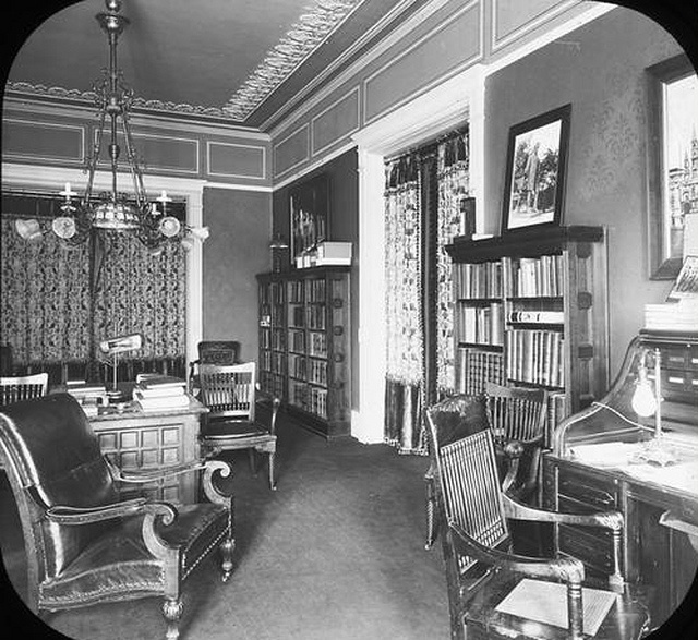 Albany NY Executive Mansion Governor's Office 1890's by gaswizard, via Flickr