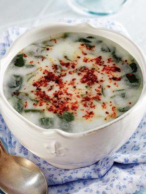 Soğuk semizotu çorbası Tarifi - Türk Mutfağı Yemekleri - Yemek Tarifleri