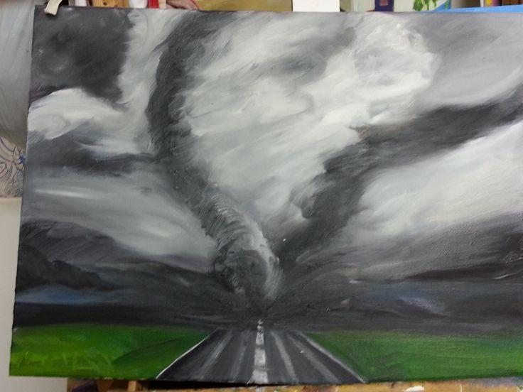 Tornado 3  - 2012 - Oil