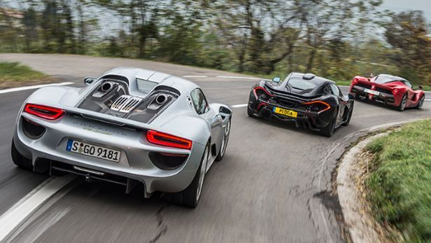 laferrari vs mclaren p1 vs porsche 918 the verdict bbc. Black Bedroom Furniture Sets. Home Design Ideas