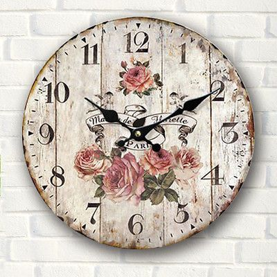 Vintage Clock (Relojes)