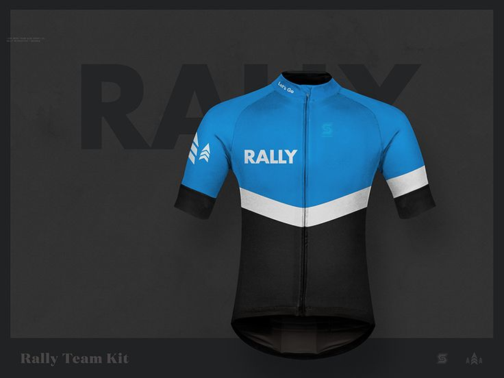 We ride a lot of bikes at Rally. So we took a stab at some lycra. These should be coming in the next few weeks. Also comes in red.