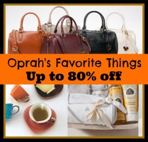 GMA Deals And Steals (Oprah's Favorite Things): Burt's Bees And More - up to 80% off