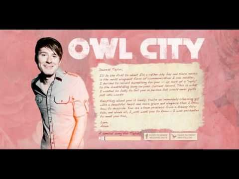 """Such an enchanting cover/reply done by Adam Young of Owl City of Taylor Swift's song """"Enchanted"""" Simply beautiful."""