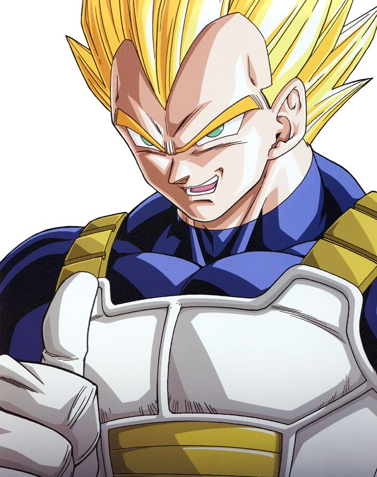 227 best vegeta images on pinterest dragons - Goku vs vegeta super saiyan 5 ...