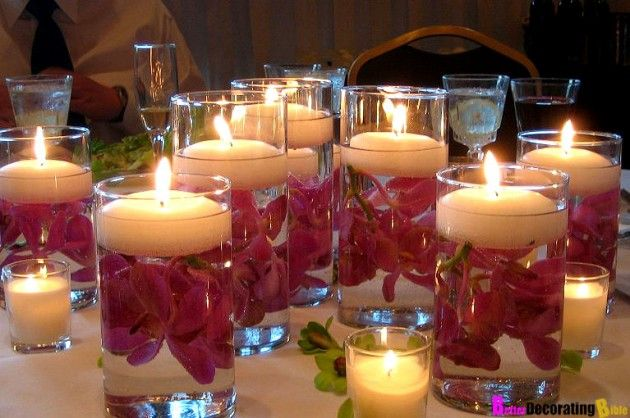 Valentine's Day Floating Candles - The Greatest 30 DIY Decoration Ideas For Unforgettable Valentine's Day