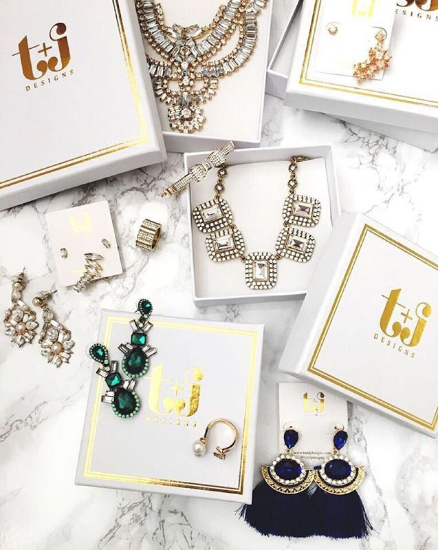 The ultimate jewelry grab bag from t+j Designs.