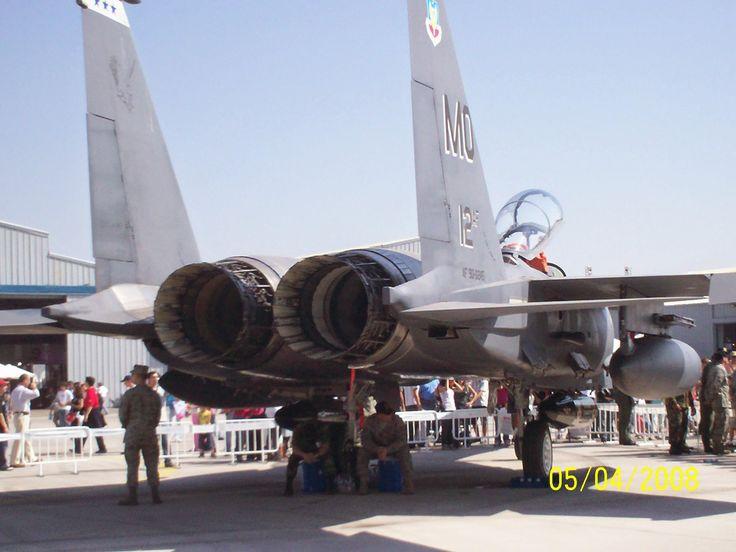 F-15 Strike eagle engines
