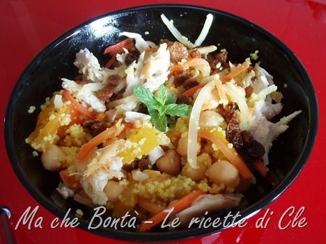 Cous cous in agrodolce. #ricetta di @wondercle