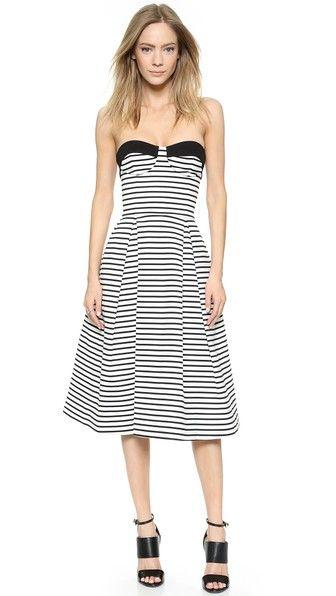 Nicholas Breton Stripe Ball Dress