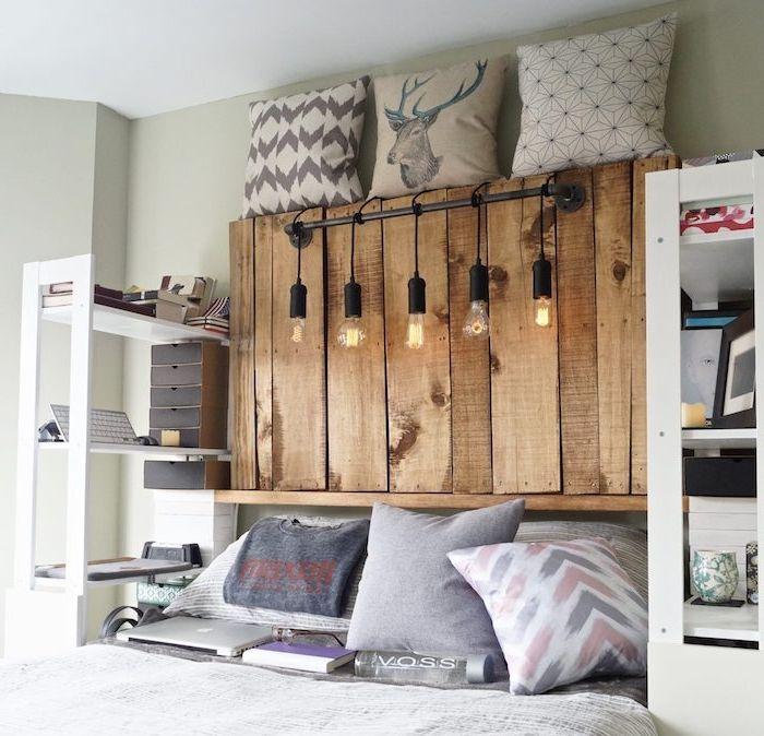 les 25 meilleures id es de la cat gorie tete de lit. Black Bedroom Furniture Sets. Home Design Ideas