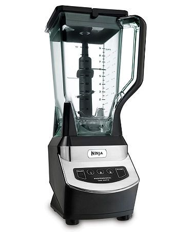 Ninja NJ600 Professional Blender.  It comes with recipes for different smoothies & things.  It really does turn ice into something like snow.  I'm in love!