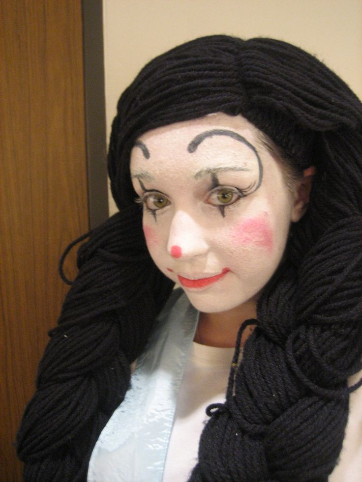 115 best clown make up ideas images on pinterest carnivals clown faces and artistic make up. Black Bedroom Furniture Sets. Home Design Ideas