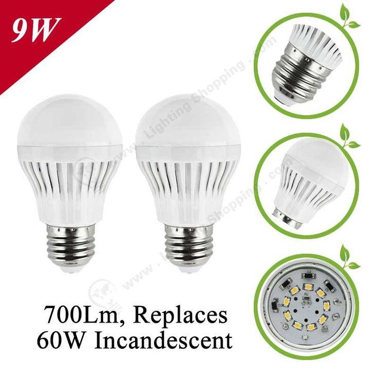 Low Price LED Bulbs E27 Globe Shape-Detail-9W