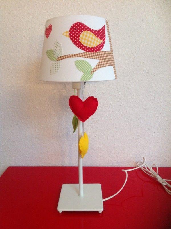 die besten 25 lampenschirm aus stoff ideen auf pinterest. Black Bedroom Furniture Sets. Home Design Ideas