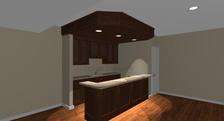 Small Basement Bar Ideas | small basement bar idea (design plan via Home ... | Home Is Where The ...