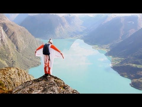 Adventures With Aviator - B.A.S.E. Jumping In Norway with Team Go4It -- (Wingsuit BASE) - YouTube