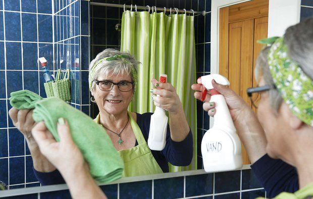 Gør rent på den nemme måde -Fru Grøn giver 3 bud på den absolut bedste rengøring