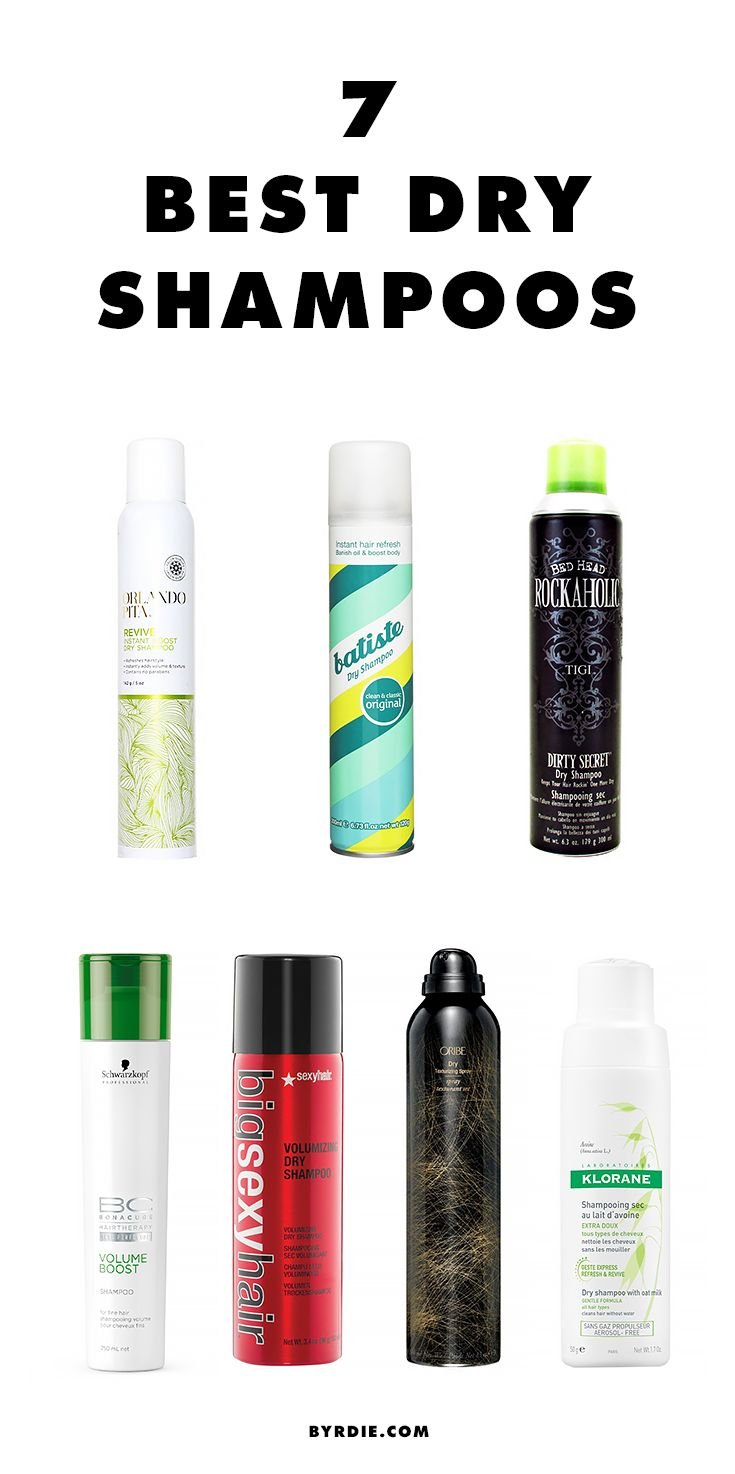 The dry shampoos that Hollywood hair stylists love