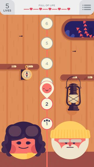 illustration on TwoDots  ios app iphone game