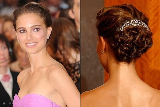Natalie Portman ball hairstyle