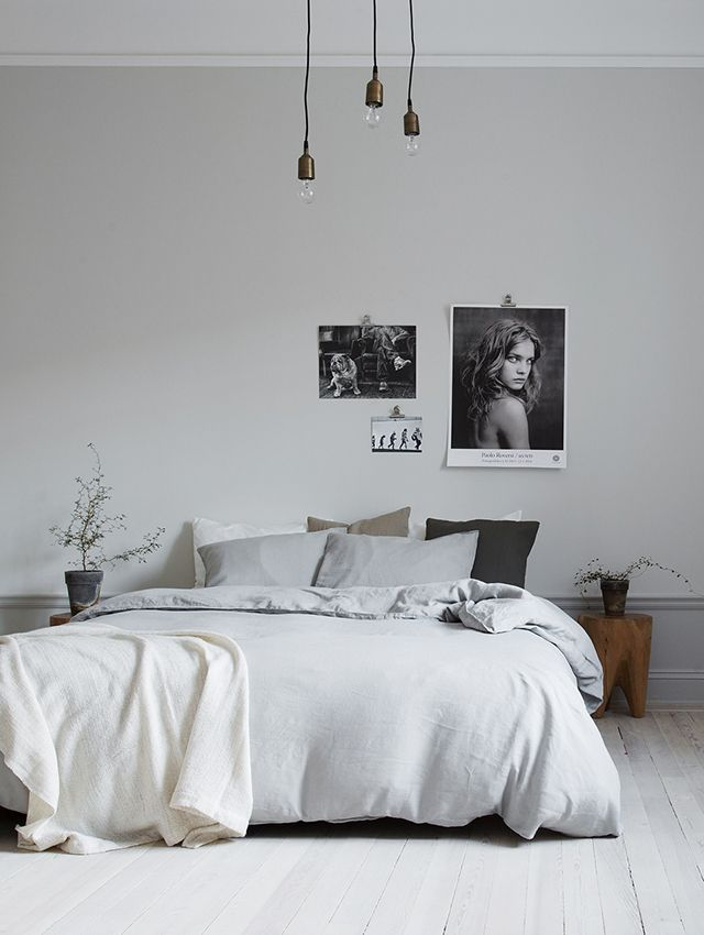 Homes to Inspire   Understated Style in White + Grey