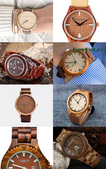 Wood you tell me the time? by Stuart McWilliam on Etsy--Pinned with TreasuryPin.com