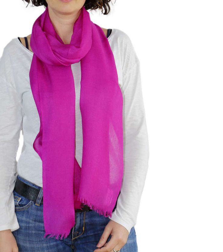Light cashmere Scarf, FUCHSIA Pashmina, travel Cashmere scarf, Large Shawl, Long Scarves for women, light wool scarf, pink pashmina shawl http://etsy.me/2oqTrJ8 #accessories #scarf #anniversary #fuchsiascarf a #cashmerescarf #travelscarf #iyalianfashion