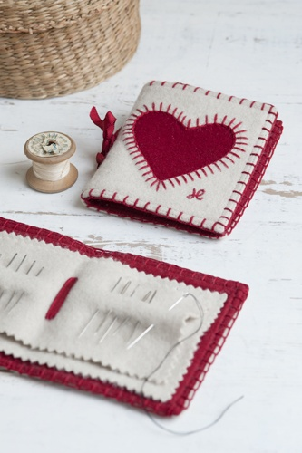 Book Cover Sewing Kits : Best ideas about needle case on pinterest