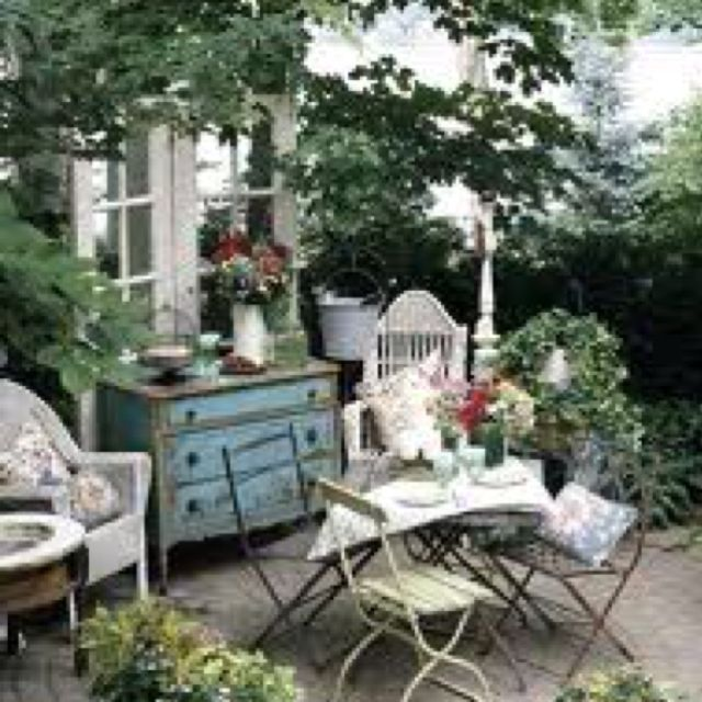 Beautiful vintage patio