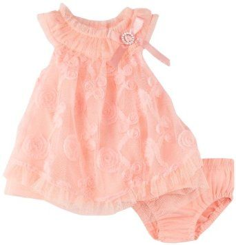 Nannette Baby-girls Newborn 2 Pieces Ruffle Knit Dress And Panty:Price:	$18.28 - $28.00