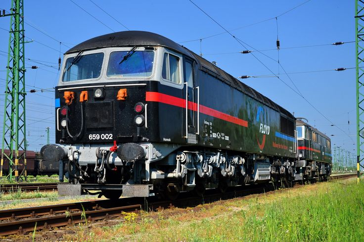 Ex-BR class 56 and 86 locos in Hungary.