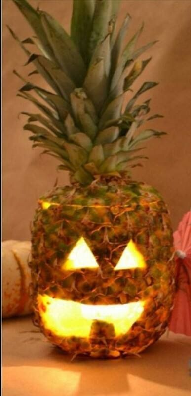 A Key West style jack-o-lantern...have to try this!