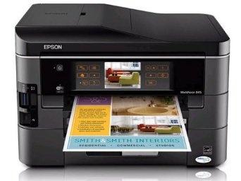 Epson WorkForce 845 Wireless All In One Color Inkjet Printer Copier Scanner