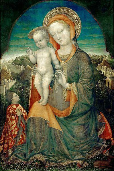 Committenza estense. 1441. Louvre.