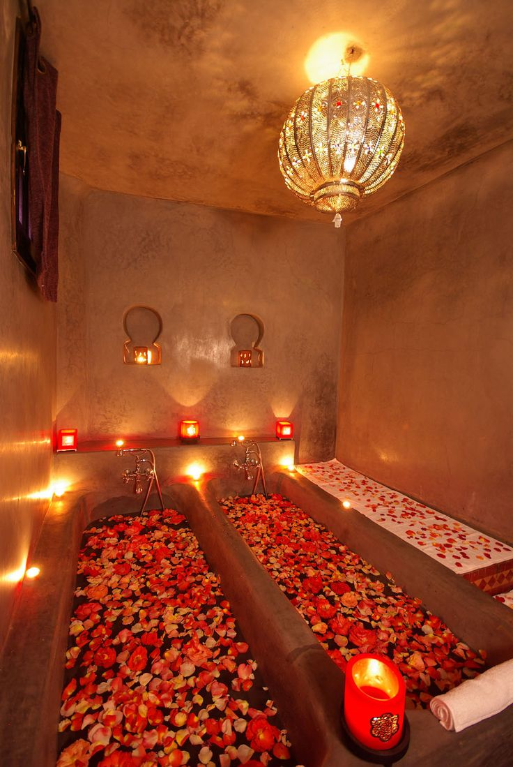 Les bains de l 39 alhambra marrakech hammam spa marrakech for Hammam salle de bain