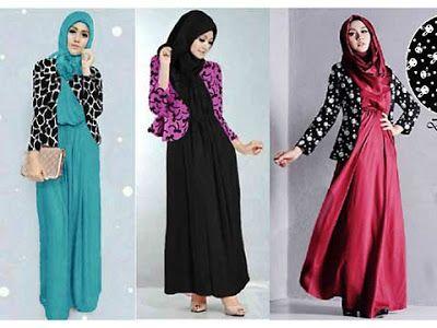 Baju Gamis Muslim Naraya Fashion Little Rabbit Print